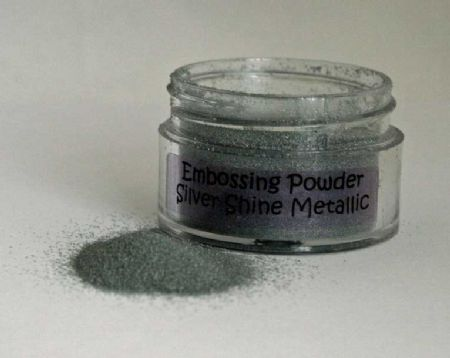 Silver Shine Metallic Cosmic Shimmer Embossing Powder